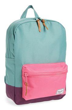 Herschel Supply Co. 'Settlement' Backpack (Girls) available at Cute Backpacks, Girl Backpacks, School Backpacks, Leather Backpacks, Backpack For Teens, Backpack Bags, Fashion Backpack, Duffle Bags, Messenger Bags