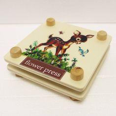 Bambi Deer Flower Press
