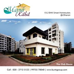 A Beautifully appointed Clubhouse featuring over thousand square feet of amenities at #mayurkilbil please visit:bit.ly/mayurkilbil #Buntygroup #Mayurkilbil #ProjectsByBunty