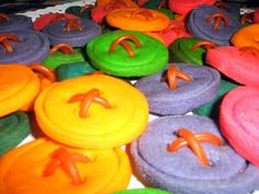 Button Cookies Recipe Cute as a button theme food idea