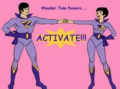 """ From the SuperFriends Cartoon. Footage love Zan and Jana. William Hanna, Wonder Twins, Old Cartoons, Classic Cartoons, Cartoon Jokes, Hanna Barbera, My Childhood Memories, Sweet Memories, 90s Childhood"