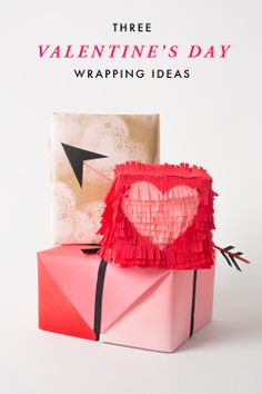 3 valentine's day wrapping ideas / the house that lars built