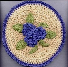 Flowers in Springtime Potholder