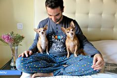 life is better with company  #friends #dogs #menstyle #cute