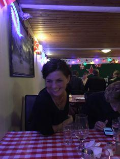 1. oktober 2016 Restaurant Klubben med Dennis, My, Harald og Michael