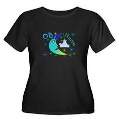 OB night nurse t-shirt