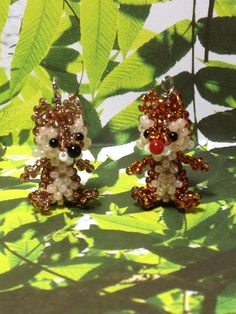 ature Japanese Seed Bead Disney Chip Charm Doll by ShesSoCharming