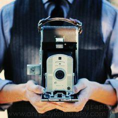 cámara Vintage decoración Bodegón retro friki por annadykema