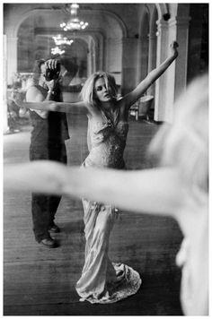 Sante DOrazio, Diane Krueger and Sante, Theatre Trianon, Paris, 2005