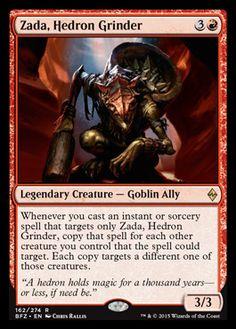Zada Hedron Grinder, Legendary Creature from Battle for Zendikar #mtg #magicthegathering