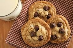 Gluten Free Awesome Chocolate Chip Cookies. Photo by Delicious as it Looks