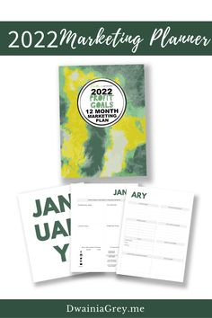 Not sure what to promote? Want to add timely sales to your marketing but not sure how?Buy the easy to use 2022 Profit Goals: 12 Month Marketing Planner.The 2022 Profit Goals: 12 Month Marketing Plan step-by-step marketing planner is for any Empowerpreneur (author, public speaker, coach, creator, blogger – any small business owner). Marketing Plan, Online Marketing, Digital Marketing, Planning And Organizing, Blog Planner, Promotion, Blogging, Public, Author