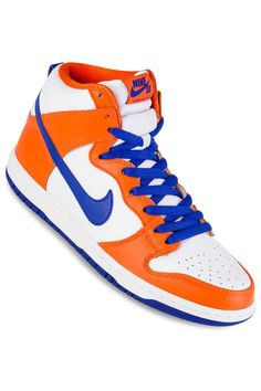 9b91fd871b9d Nike SB Dunk High OG Danny Supa QS Shoes (safety orange hyper blue white)