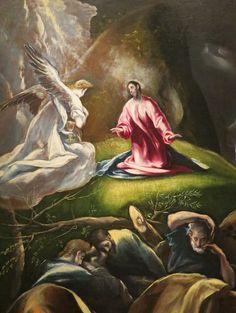 El Greco: Agonía en el jardín. 1612.