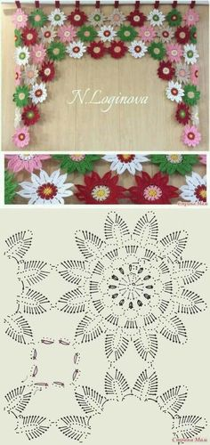 Crochet flowers...
