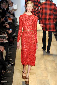 Michael Kors Fall 2012.    red carpet prediction: Catherine, Duchess of Cambridge