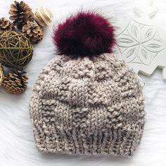 Free Knitting Pattern: Garter Rib Weave Hat – Beccie B Creative All Free Knitting, Beanie Knitting Patterns Free, Beanie Pattern, Knitting For Beginners, Knitting Designs, Knitting Ideas, Easy Knit Hat, Knitted Hats, Lion Brand Wool Ease