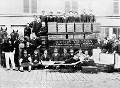 Louis Vuitton delivery cart, Paris, 1888