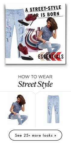 """crn-street style"" by crnklm on Polyvore featuring WithChic"