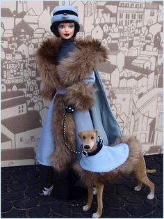 Society Hound collector Barbie! I have this one. I think it's my favorite.