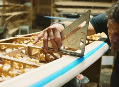 We get inside surf culture in a board-building workshop at Grain Surfboards in Portland, ME