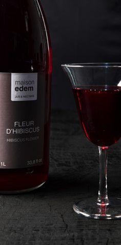 maison edem  jus et nectar de fruits exotiques www.maison-edem.com Red Wine, Alcoholic Drinks, Food, Exotic Fruit, Juice, Home, Essen, Liquor Drinks, Meals