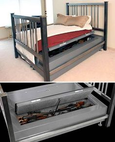 hide your guns under your bed