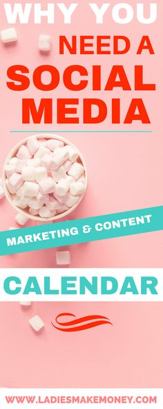 Why You Need a Social Media Marketing and Content Calendar. tips for bloggers and entrepreneurs to help you create a social media strategy that gets you more followers, traffic, subscribers, and sales. How to Create a Social Media Strategy That Works. Blog strategy. Blog planner for Entrepreneurs. Social media marketing strategy. #socialmedia