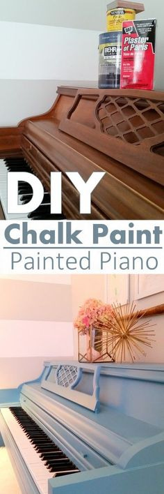 How to Paint a Piano Like a Wild Woman