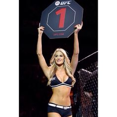 flawless beauty of ring card girl, Kristie Pearson (Kristie Jane McKeon) : if you love #MMA, you will love the #MixedMartialArts and #UFC inspired designs at CageCult: http://cagecult.com/mma