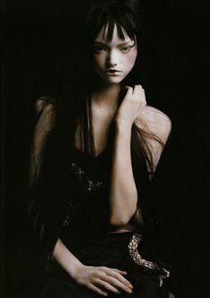 Gemma Ward by Steven Meisel.