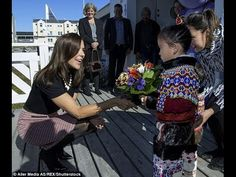 Princess Mary of Denmark meets a large teddy and plays with children on Greenland visit Princess Mary of Denmark meets a large teddy and plays with children on Greenland visit Read more: http://dailym.ai/2bShmvW Bear-y pleased to meet you! Princess Mary shows off her fashion prowess as she shakes hands with a purple teddy and greets children in Greenland Princess Mary completed a three-day trip to Greenland last week As the head of the Mary Foundation she attended multiple events The focus…
