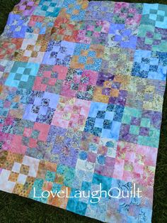Nice little tutorial for this four patch plus