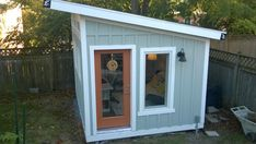 """Just finished!  My writer's studio, The Tree House (formerly known as the shed """"She"""").  Blog post with slide show of interior."""