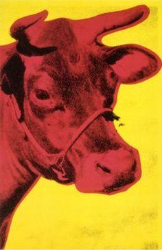 La Vache, par Andy Warhol