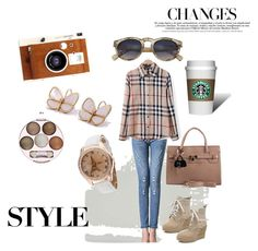 """One day in a Big City"" by lightinthebox ❤ liked on Polyvore featuring LØMO"