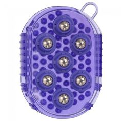 Rubber Jelly Massage Mitt with Magnetic Therapy Balls.