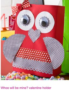 Valentine Card Holder Craft Kit  Owl Craft kits and Craft