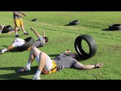 Rugby Drills, Football Training Drills, Rugby Training, Tire Workout, Train Insane Or Remain The Same, Lacrosse, Weight Lifting, Gym Workouts, Cardio