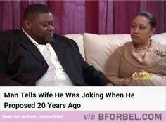 Trolling His Wife For 20 Years…
