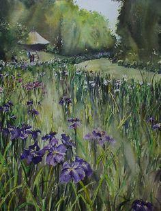Gabrielle Moulding - Iris Field, Yoyogi Park