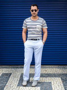 Calça: Richards/ Blusa: Zara/ Sapato: Asos/ Cinto: Zara/ Relógio: Casio/ Óculos: Spitfire
