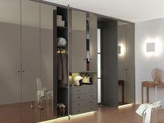 Deco chambre a coucher moderne 686 photo deco maison id es decoration interieure sur pdecor for Placard mural chambre