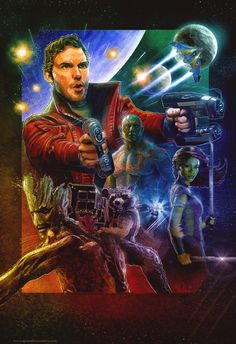 Guardians of the Galaxy - Blake Armstrong