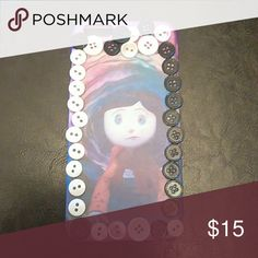 iPhone 6 & 6s plus phone case , Coraline ! Custom Coraline phone case ,  submit your order today ?? !  FUR CASES WILL BECOME AVAILABLE WEDNESDAY.  this case is for sale !   submit phone type , and a design that you want ! all online orders can be refunded within 10 days ! Receipts are included with orders !!! keep Receipts for refund , or screenshot the order confirmation . Accessories Phone Cases