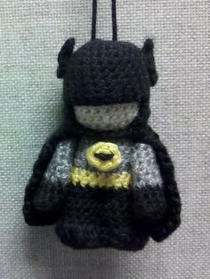 Ravelry: Amigurumi Batman pattern by Jennifer Schwartz