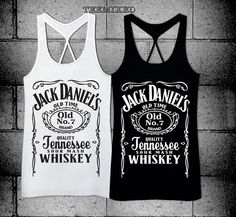 Jack Daniel Women Racerback tank top @Nichole Radman Radman Amaro our new drinking tank tops? LOL