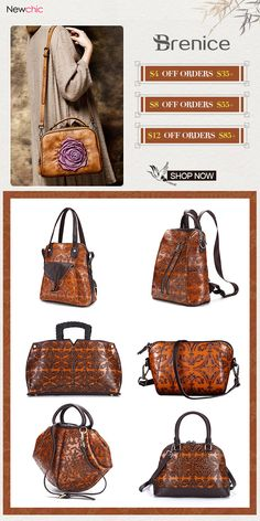 Vintage Bags for Women. Brenice Super Promotion.Buy more saving more!And big giveaway! #vintagebag #giveaway #hotsale