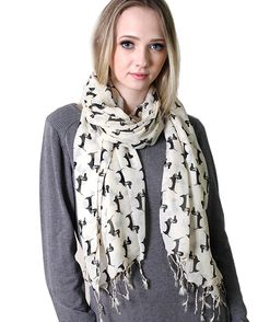 Anika Dali Bella Doxie Dachshund Dog Scarf, Animal Lover Shawl (Emerald) at Amazon Women's Clothing store:
