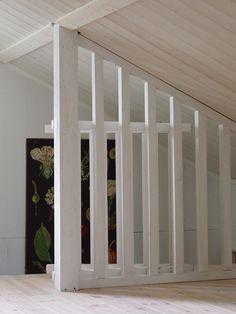 Pilviraitti: Kaide yläkertaan